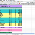 How To Make Home Budget Spreadsheet Excel Laobingkaisuo Throughout Inside Free Home Budget Spreadsheet