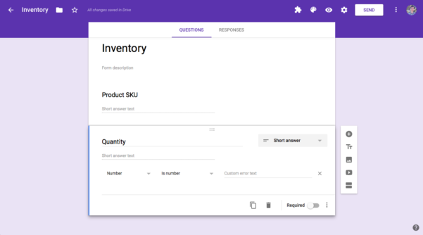 How To Manage Inventory In Google Sheets With Google Forms   How To Within How To Make A Spreadsheet For Inventory