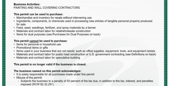 How To Register For A Sales Tax Permit In Washington   Directliquidation Intended For Olympia Business License