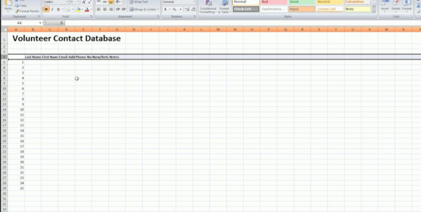 How To Start A Excel Spreadsheet   Daykem For How To Start A Spreadsheet