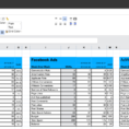 How To Track Linkedin Ads Kpis In A Spreadsheet For Digital Marketers With Kpi Tracking Template Excel