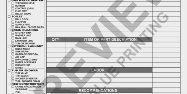 Hvac Forms – Free Hvac Invoice Template – The Invoice And Resume Ideas Intended For Hvac Invoice Template
