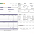Hvac Service Invoice Within Hvac Invoice Template