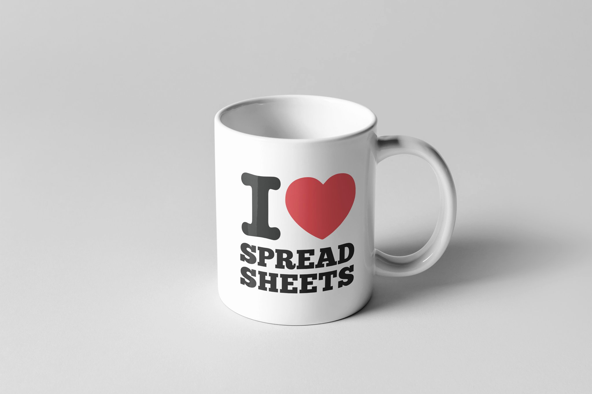 I Love Spreadsheets Mug Elegant I Love Spreadsheets Mug – Monkey Duo To I Love Spreadsheets Mug