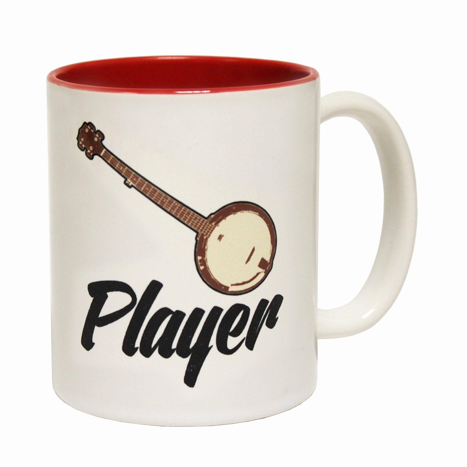 I Love Spreadsheets Mug Luxury Funny Mugs Banned Member Banjo Player With Spreadsheet Mug