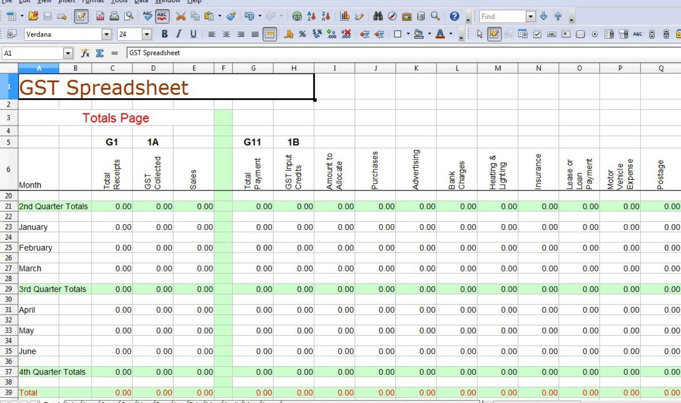 Impressive Simple Accounting Templates Tags : Simple Accounting To Within Simple Accounting Excel Template
