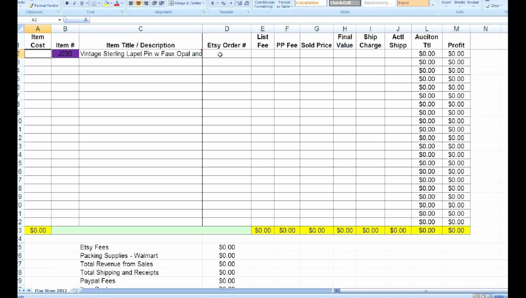 In A Spreadsheet Program Elegant In A Spreadsheet Program Luxury In Inventory Control Spreadsheet