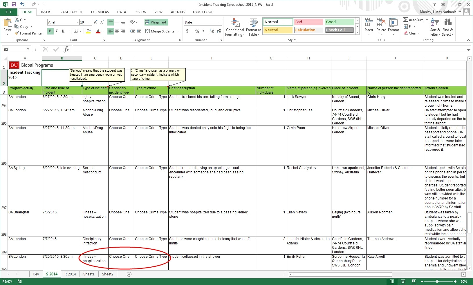Incident Tracking Excel Spreadsheet | Natural Buff Dog Within And Incident Tracking Spreadsheet