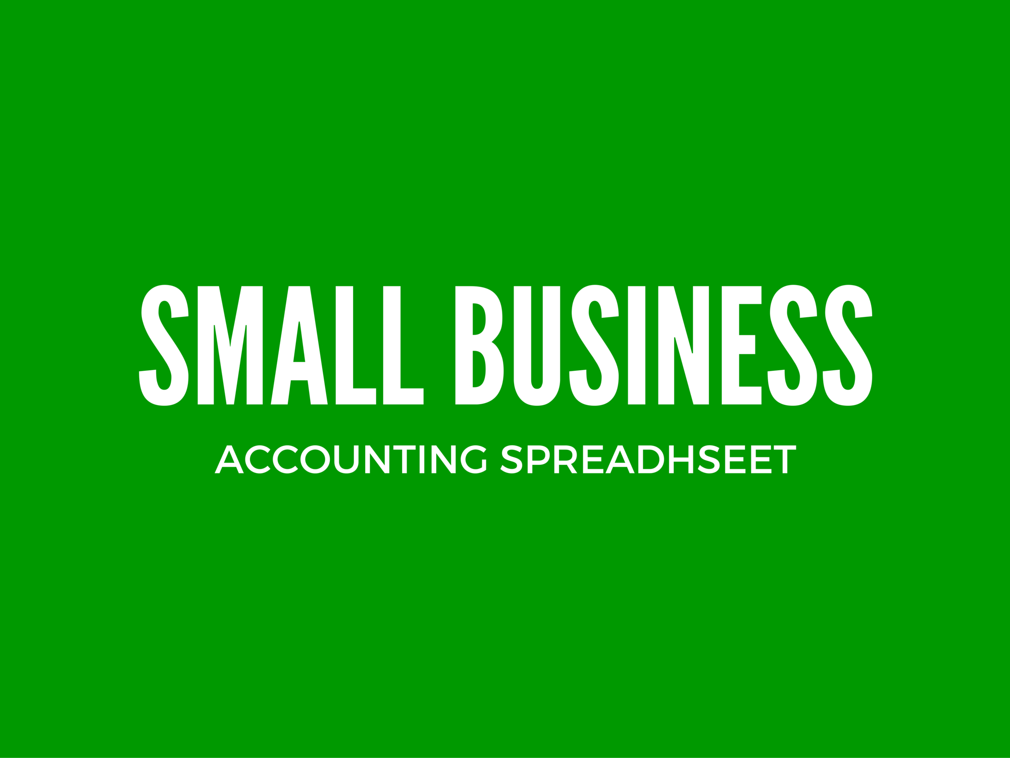 Income And Expenditure Template For Small Business   Excel And Bookkeeping Excel Spreadsheet Template