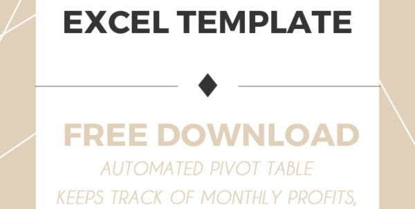 Income And Expense Tracker Excel Template   Free Download   Lily Liseno With Income Tracking Spreadsheet Income Tracking Spreadsheet Spreadsheet Software