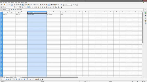 Income And Expenses Spreadsheet For Small Business For Spreadsheet Template For Small Business Expenses
