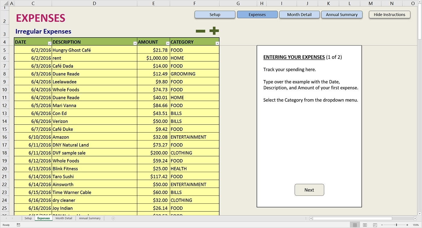 Income Expense Worksheet Excel Excel Spreadsheet Template For To With Simple Spreadsheet Program