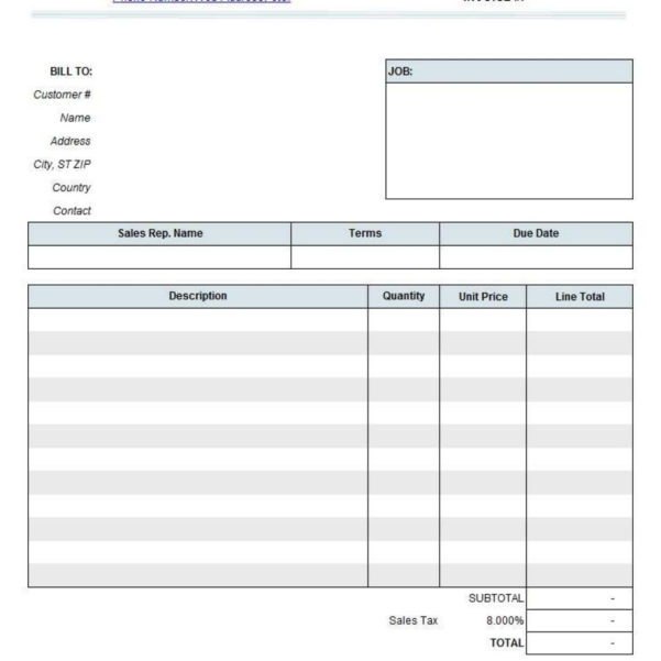 Independent Contractor Invoice Template Sample Contractor Invoice And Independent Contractor Invoice Sample