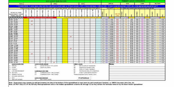 Intermittent Fmla Tracking Spreadsheet Beautiful Fmla Tracking Inside Fmla Tracking Spreadsheet