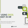 Intervention Time – Coming To Terms With Cons Of Excel Spreadsheets With Hr Spreadsheets