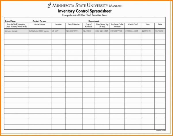 Inventory Control Sheets Free Download | Worksheet & Spreadsheet 2018 Intended For Inventory Control Spreadsheet