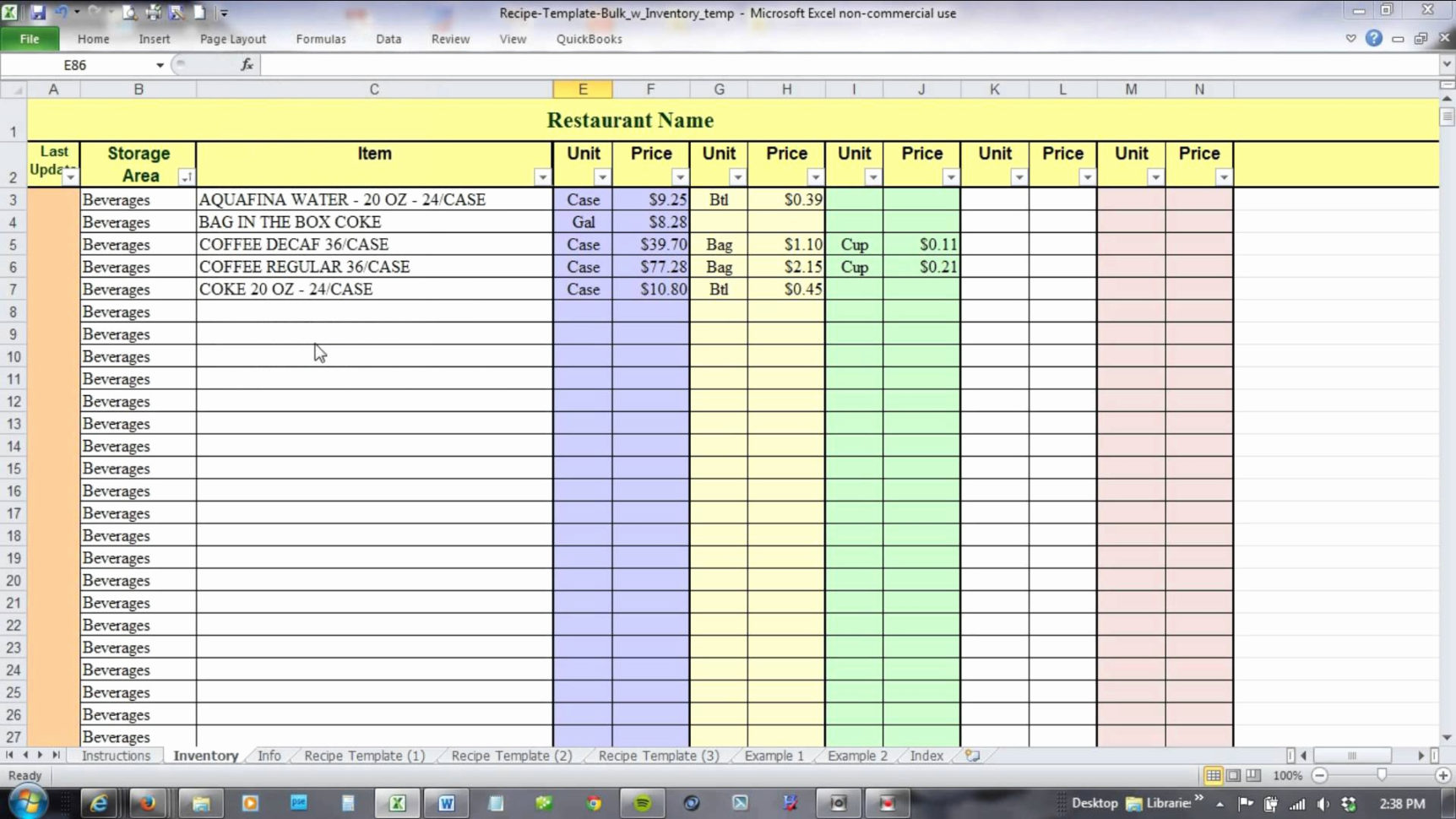 Inventory Management In Excel Free Download Inspirational Inventory Throughout Inventory Management System In Excel Free Download