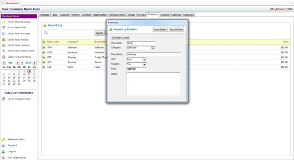 Inventory Management Template Access 2007   28 Images   Microsoft With Inventory Management Template Access 2007