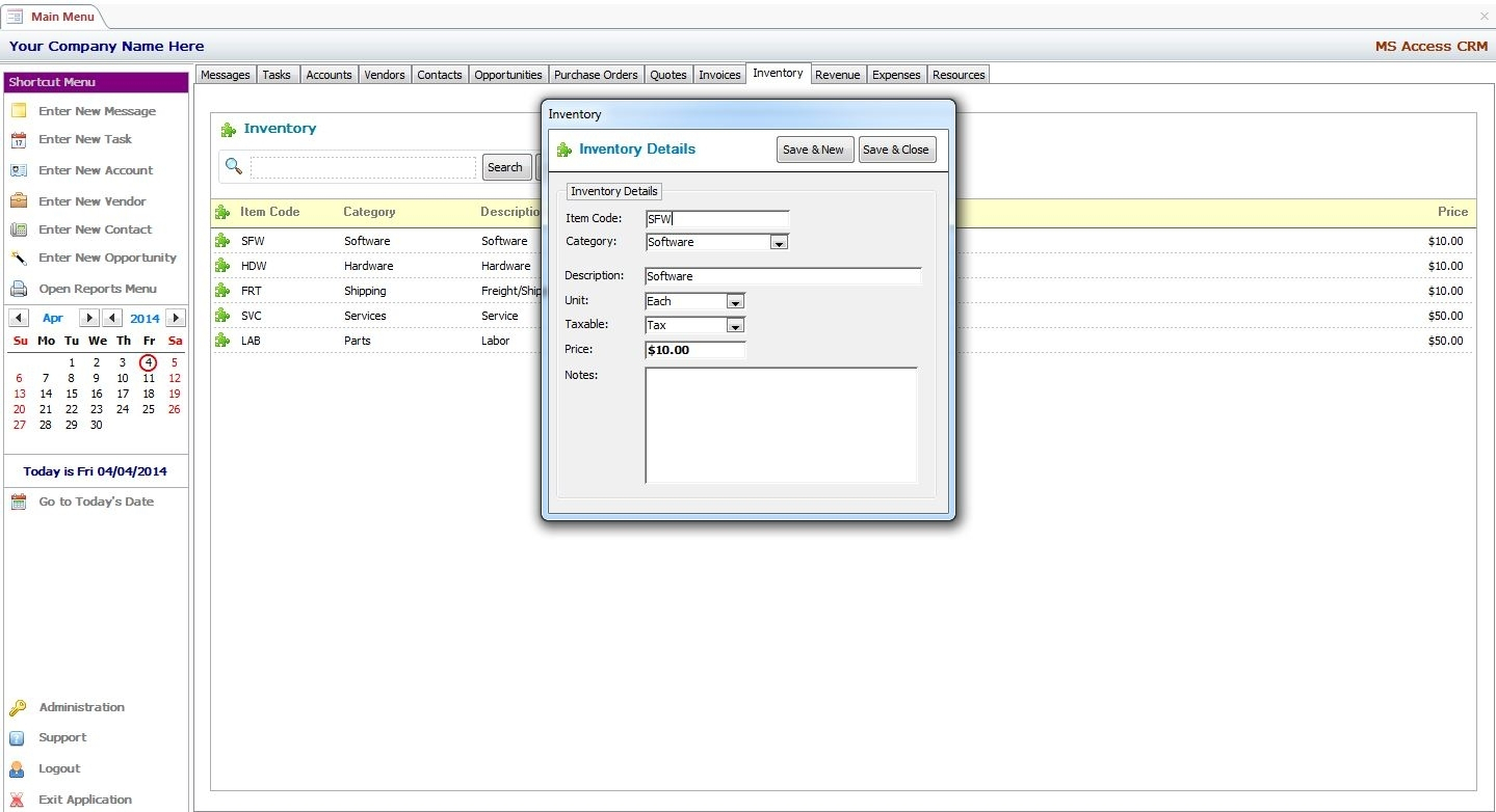Inventory Management Template Access 2007 - 28 Images - Microsoft with Inventory Management Template Access 2007