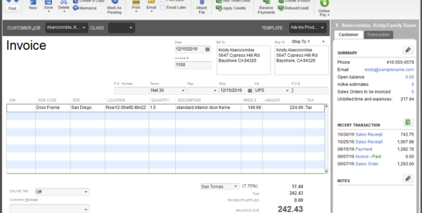Inventory Software > Quickbooks® Enterprise Canada Intended For Inventory Tracking Form