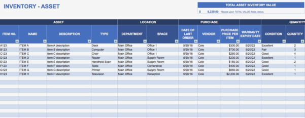 Inventory Spreadsheet Template Assets Basic But Asset Tracking And Asset Tracking Spreadsheet
