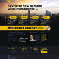 Investment Company Responsive Website Template #47483 Intended For Company Templates Company Templates Expense Spreadshee Expense Spreadshee company templates word