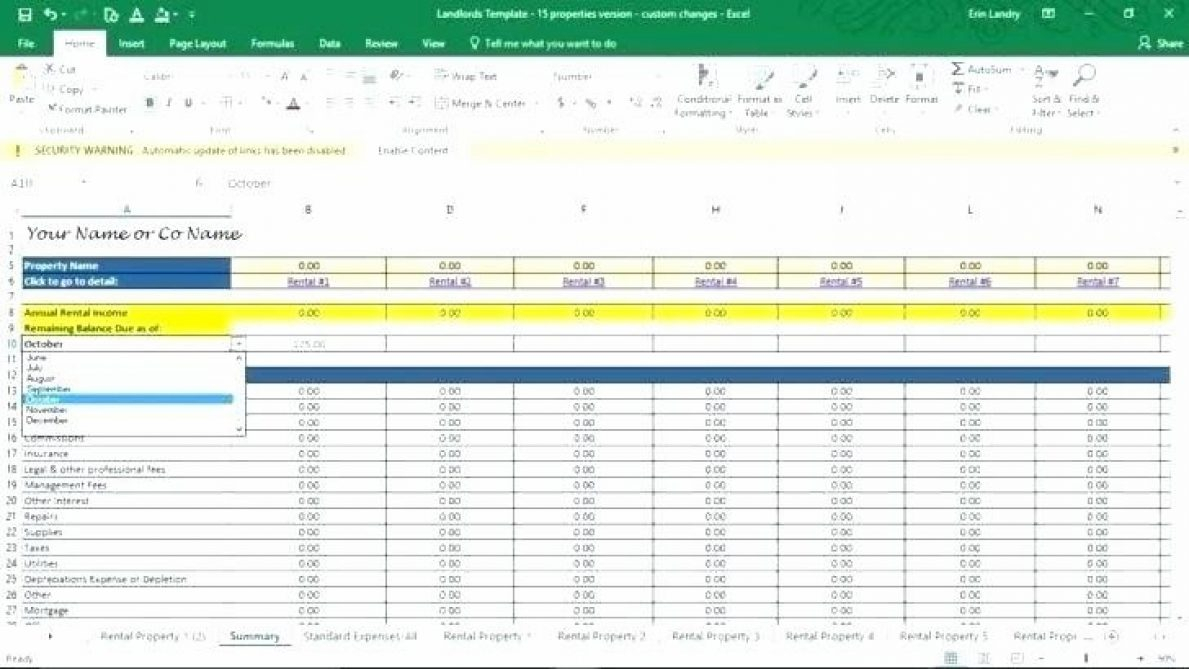 Investment Property Calculator Excel Spreadsheet Risk Templates Prop In Investment Property Calculator Excel Spreadsheet