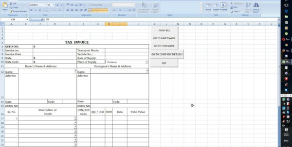 Invoice In Excel Sheet | Apcc2017 Within Create Invoices From Excel Spreadsheet