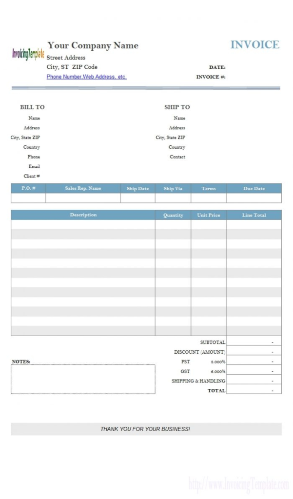 Invoice Template Google Docs Simple Invoice Template Google Docs Inside Invoice Template Google Docs