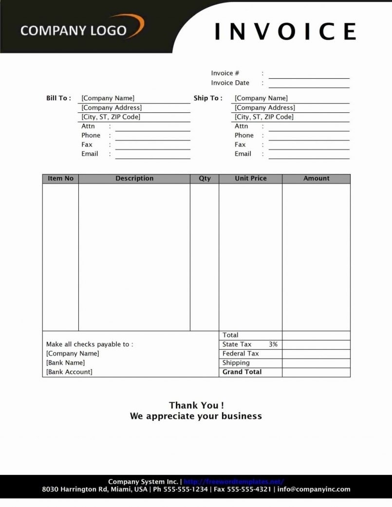 Invoice Template Open Office | Invoice Template And Invoice Template Open Office