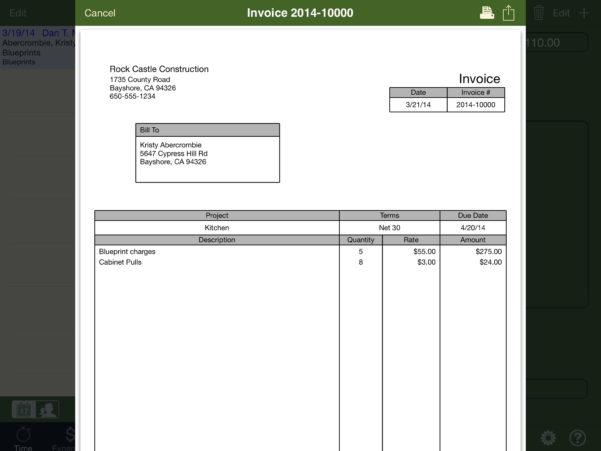 Invoice Template Quickbooks | Free Printable Invoice Quickbooks Intended For Invoice Template Quickbooks