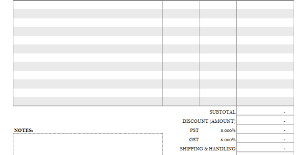Invoice Template With Credit Card Payment Option In Payment Invoice Template
