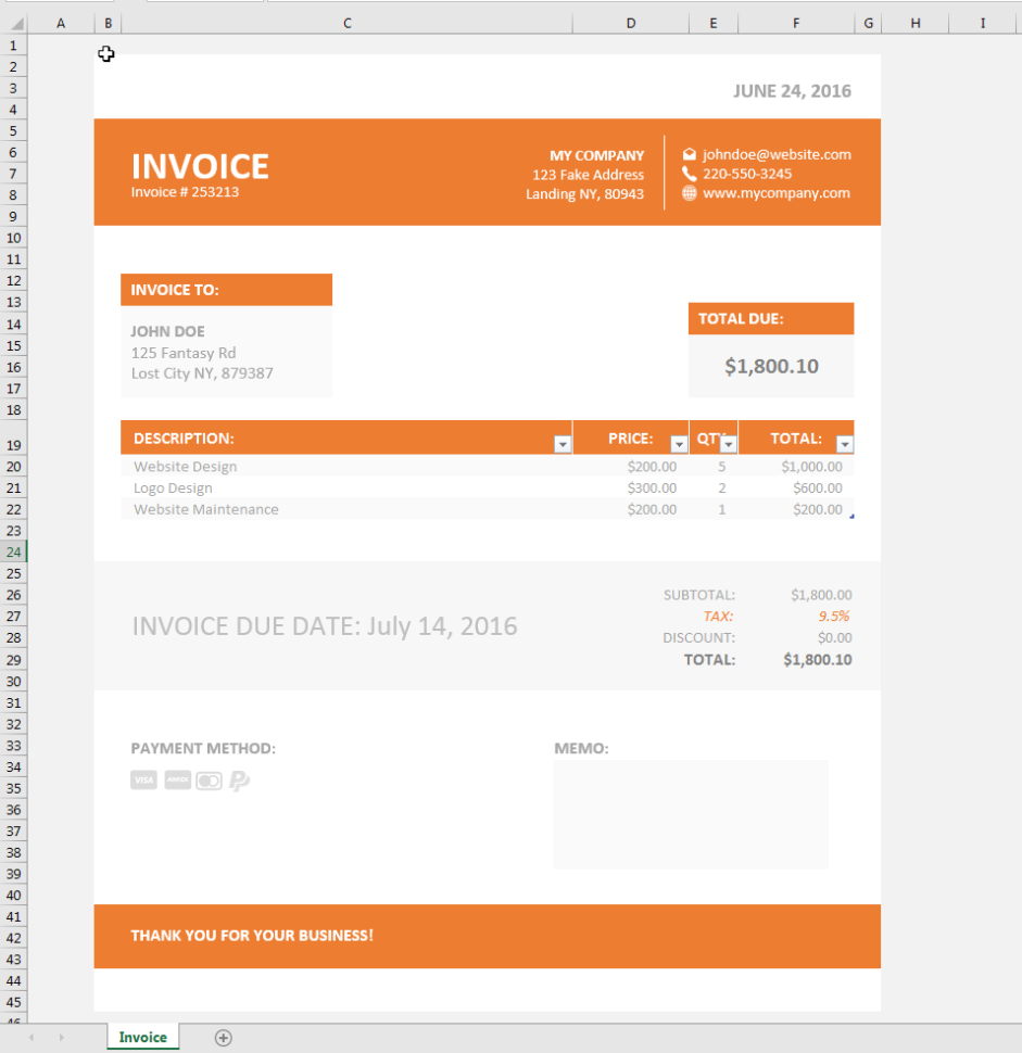 Invoice Template Xls   Simple Invoice Template Excel And Invoice Excel Template