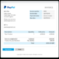 Invoice Templates - Invoice Generator | Paypal Uk to Paypal Invoice Template