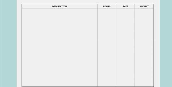 Invoice Templates Printable Free Word Doc Invoice Template Word Doc In Invoice Template Word Doc