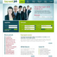 Job Portal Website Template #22059 With Accounting Website Templates Free Download
