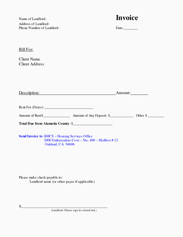 Landlord Rent Receipt Template Ontario Useful Rent Receipt Format With Rent Invoice Template