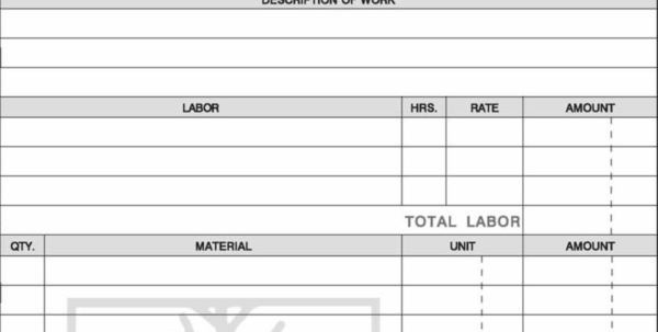 Landscaping Invoice Form Designing Inside Landscaping Invoice Template