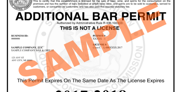 Lara   New Designs For Liquor Licenses And Permit Documents Within Business License Samples Business License Samples Expense Spreadsheet