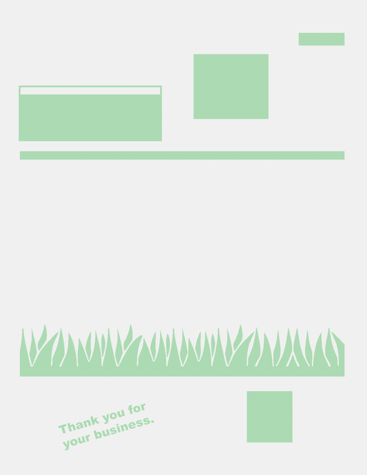 Lawn Care Invoice Templates Business Receipt Template New Of To Lawn Care Invoice Template