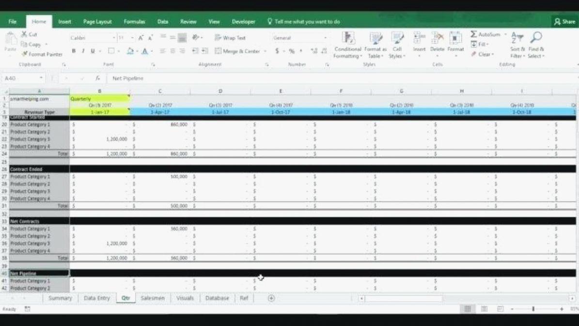 Lead Tracking Spreadsheet — db-excel.com