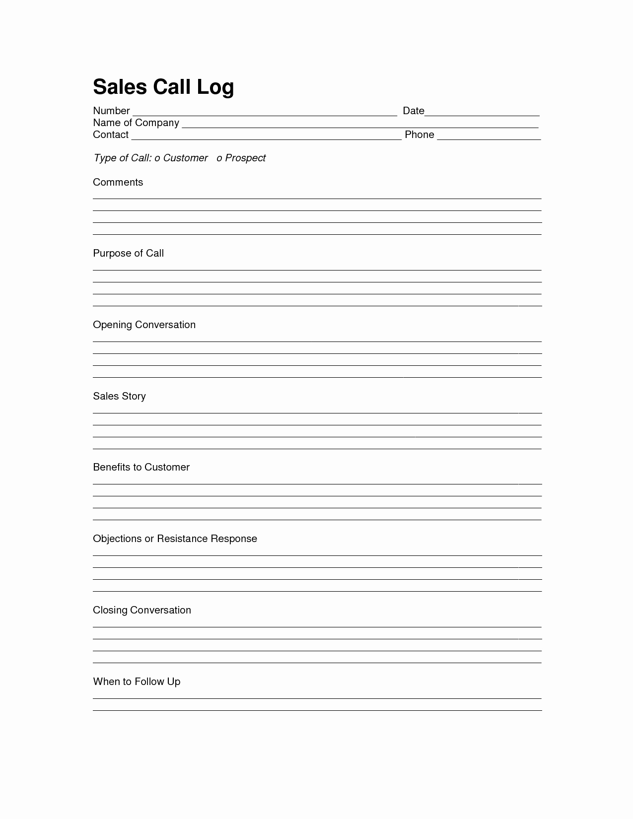 Lead Tracking Spreadsheet Unique Sales Log Sheet Template Sales Call In Lead Tracking Spreadsheet