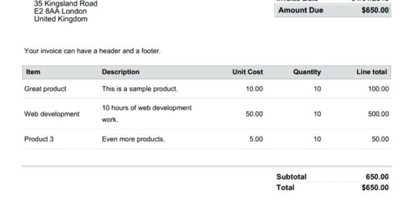 Legal Invoice Template Word | Invoice Template And Legal Invoice Template