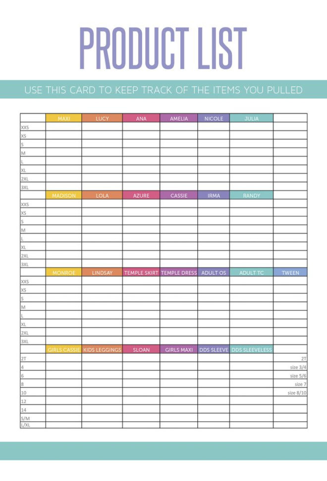 Lularoe Inventory Spreadsheet Free | Papillon Northwan Inside Inventory Spreadsheet Free