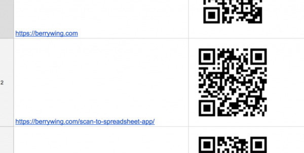 Make Your Own Qr Code Or Barcode Generator | Business Data With Scan To Spreadsheet