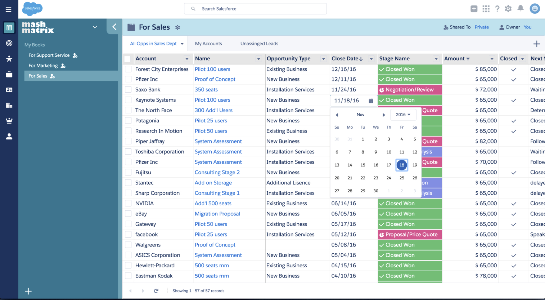 Mashmatrix Released Excel Like Web App For Salesforce Crm Data With Convert Spreadsheet To Web Application