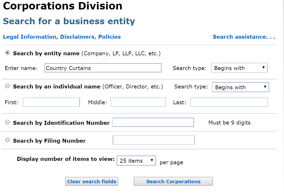 Massachusetts Business Entity And Corporation Search   Ma Secretary Inside Hawaii Corporation Search
