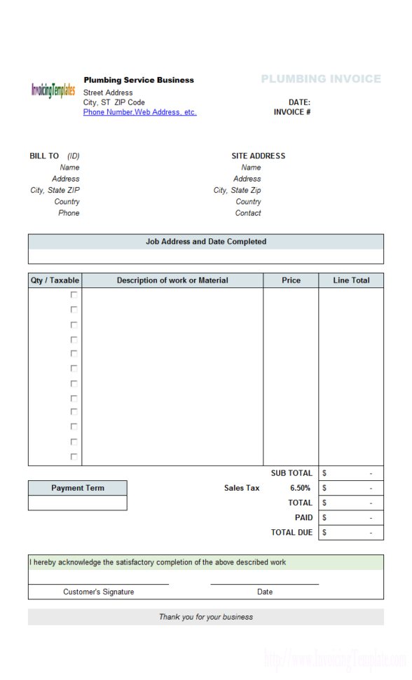 Medical Invoice Template (2) Intended For Medical Invoice Template