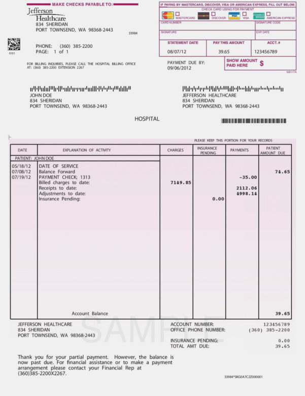 Medical Invoice Template | My Spreadsheet Templates – Medical Bill Within Invoice Spreadsheet