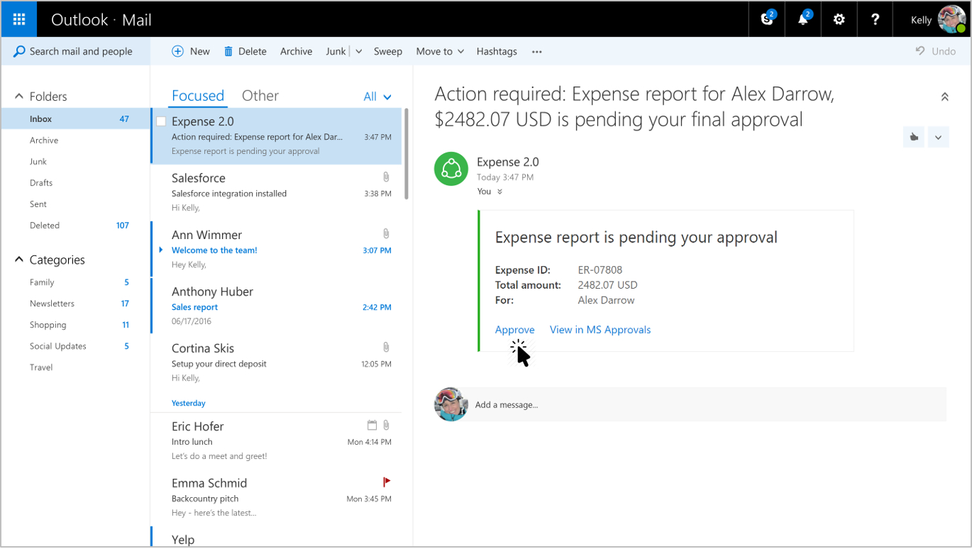 Merveilleux Office 365 Outlook Expense Report Approval With Office Expense Report